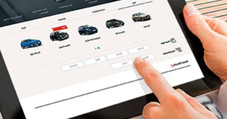 Online repossessed car auction event in South Africa